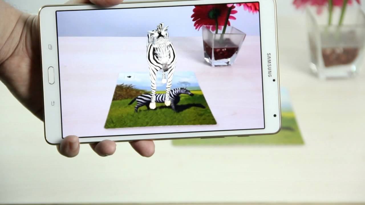 Zebra comes alive with augmented reality youtube zebra comes alive with augmented reality reheart Image collections