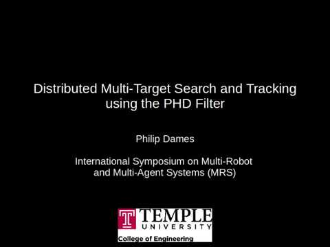 2017 MRS - Distributed Multi-Target Search and Tracking using the PHD Filter