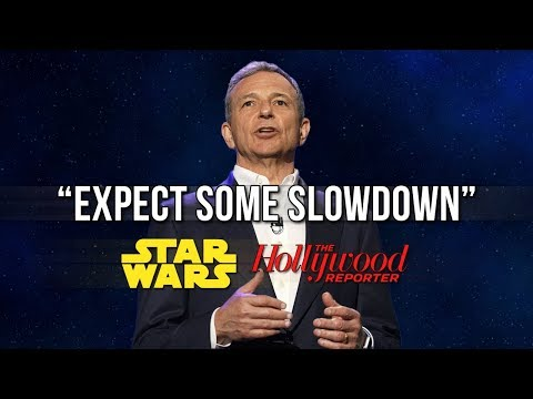 Expect some slowdown  Bob Iger says Star Wars films are slowing down