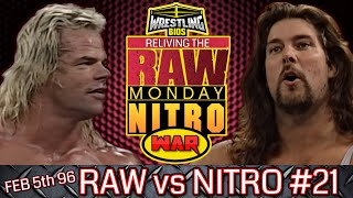 "Raw vs Nitro ""Reliving The War"": Episode 21 - Feb 5th 1996"