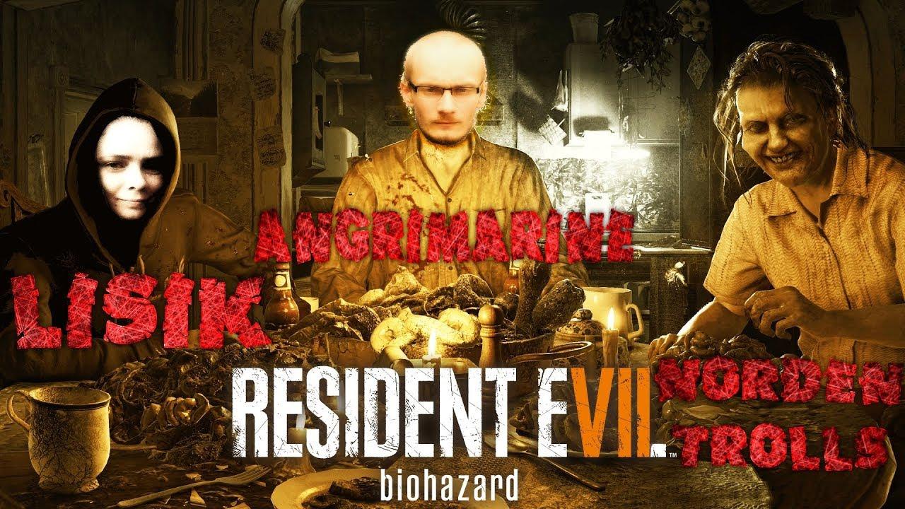 [Resident Evil VII - Biohazard] - Полуживучие людоеды