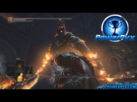 Dark Souls 3 - Lord of Cinder: Yhorm the Giant Boss Fight (Boss #10)