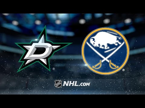 Stars roll past Sabres in dominant road win, 7-1
