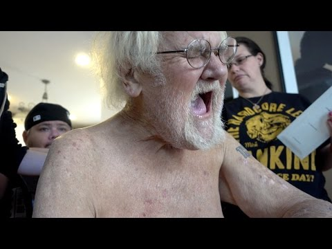 ANGRY GRANDPA'S SICK OF CANCER!!