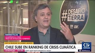 Reportaje: Chile sube en el ranking de crisis climática