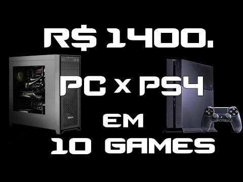 R$ 1400. PC Gamer Baratinho ou PS4? Testes em Watch Dogs 2 +9 Games Recentes