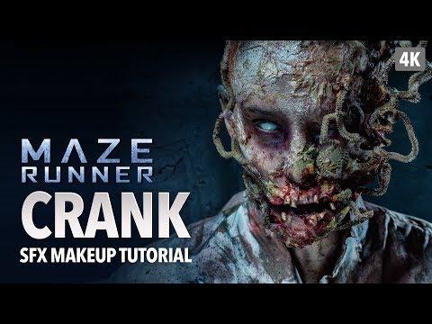 Maze Runner Crank SFX Makeup Tutorial