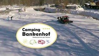 Winter auf dem Camping Bankenhof - Januar 2016