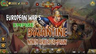European War 5 : Empire [Byzantine] - Battle of North Africa