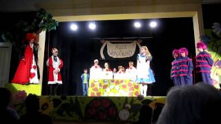 Simon Says Song - Alice in Wonderland, Jr
