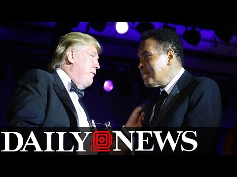 Trump Pays Tribute To Muhammad Ali After Claiming No Muslim American Sports Heroes