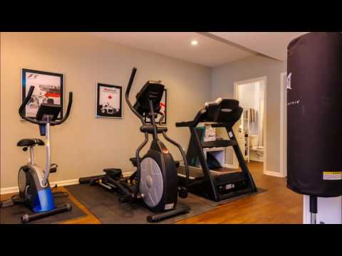 Modern Exercise Room