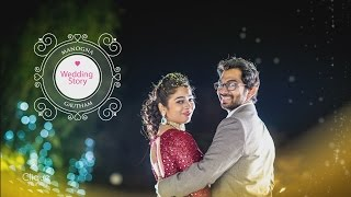 Wedding Story of Manogna Ambati & Gautham!!