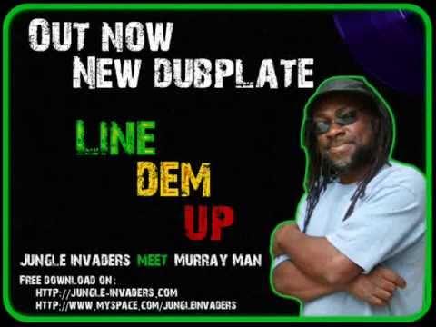 Murray Man Meets Jungle Invaders-line Dem Up