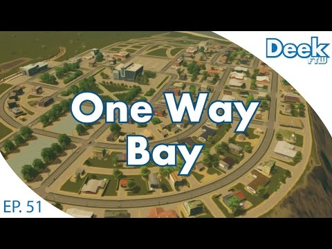 One Way Bay Ep.51 - College Town Revamp - Cities Skylines