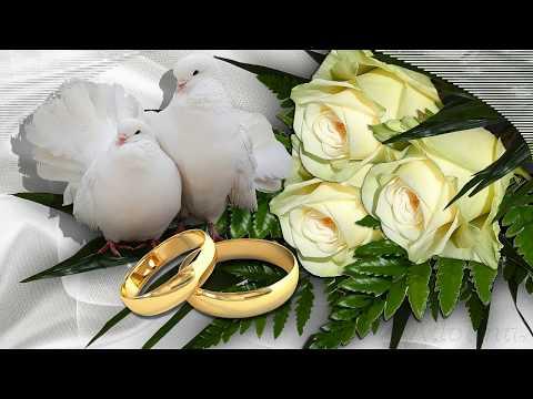 Glückwünsche zur Hochzeit.
