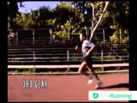 Split Screen Demonstration of Chi Running Gears