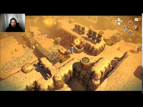 Playing Oceanhorn Ep,3   I put a spell on you