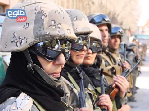 Afghanistan Women Police to Stand Alongside Men Counterparts - Saleha Soadat