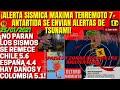 ¡URGENTE POTENTE TERREMOTO 7+ SACUDE ANTARTIDA! ¡TIEMBLA ESPAÑA/CHILE Y COLOMBIA ALERTA VIENEN MAS!