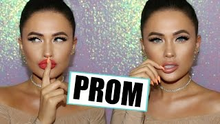 DRUGSTORE Prom Makeup With Two Lip Options
