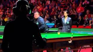 Zhu Ying - snooker referee