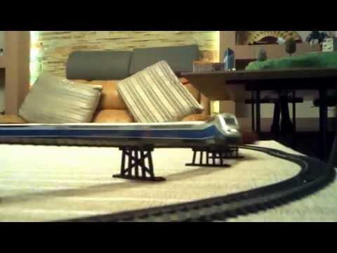 Mehano Model Railroad 8-Shape Trestle & Bridge Track Set