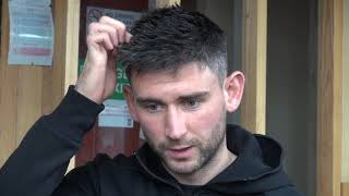 Paddy McLaughlin pre match interview