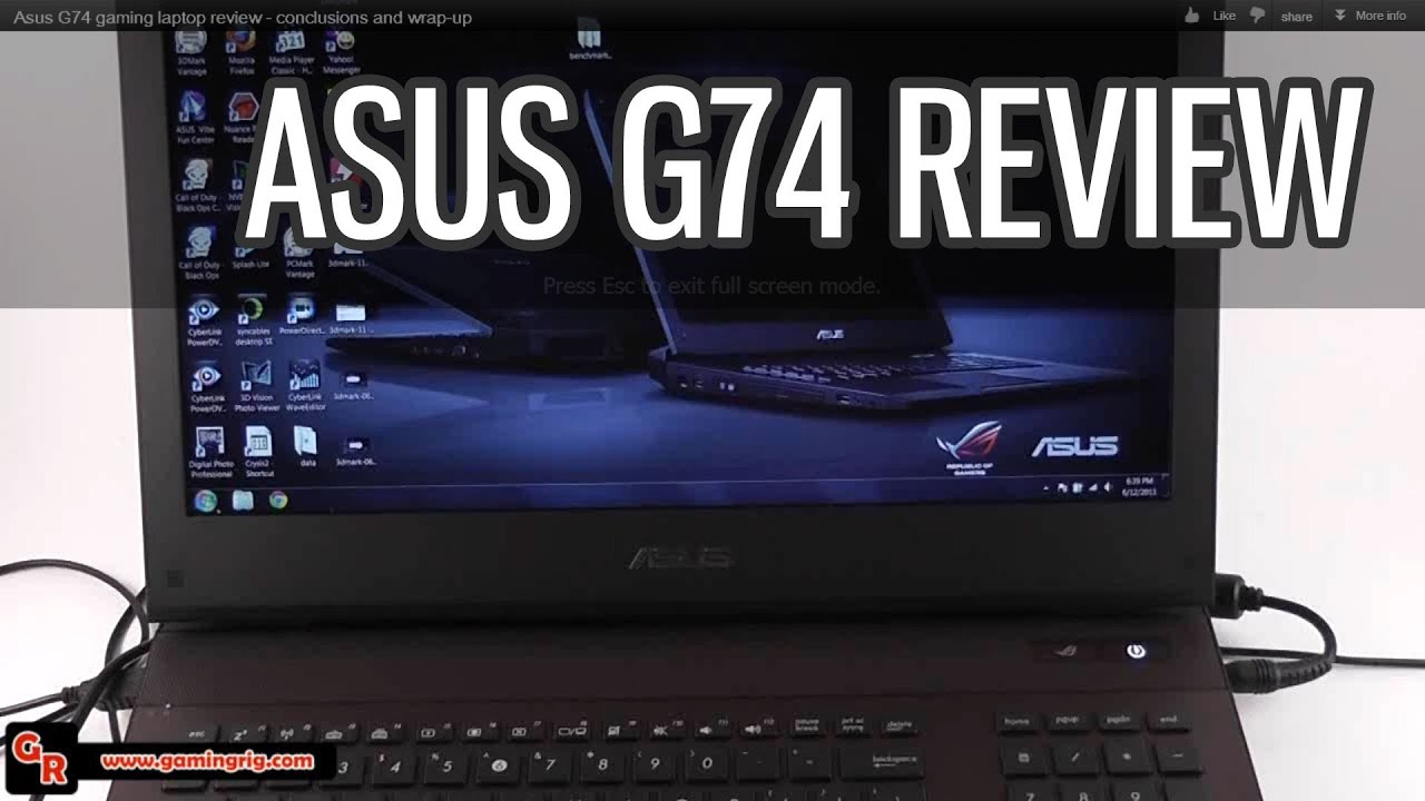 ASUS G74SX INF DOWNLOAD DRIVER