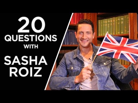 20 Questions With Sasha Roiz (Captain Sean Renard in Grimm)