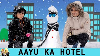 AAYU KA HOTEL | #Funny Types of people in hotel | Aayu and Pihu Show