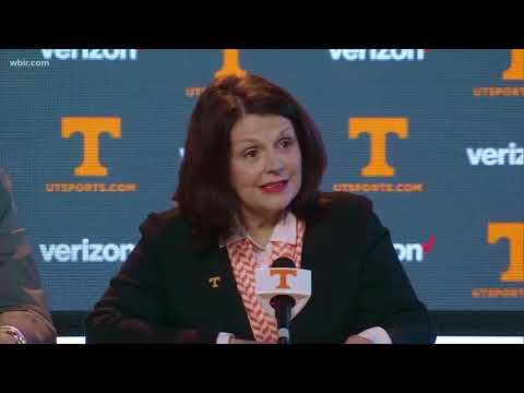 WATCH: Full news conference on leadership changes to Tennessee Athletics