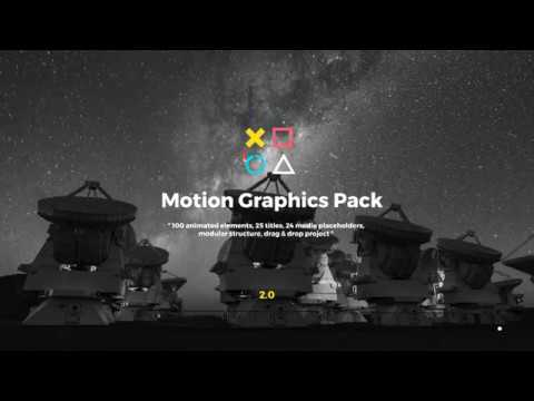 Motion Graphics Pack - Free Download After Effects Templates