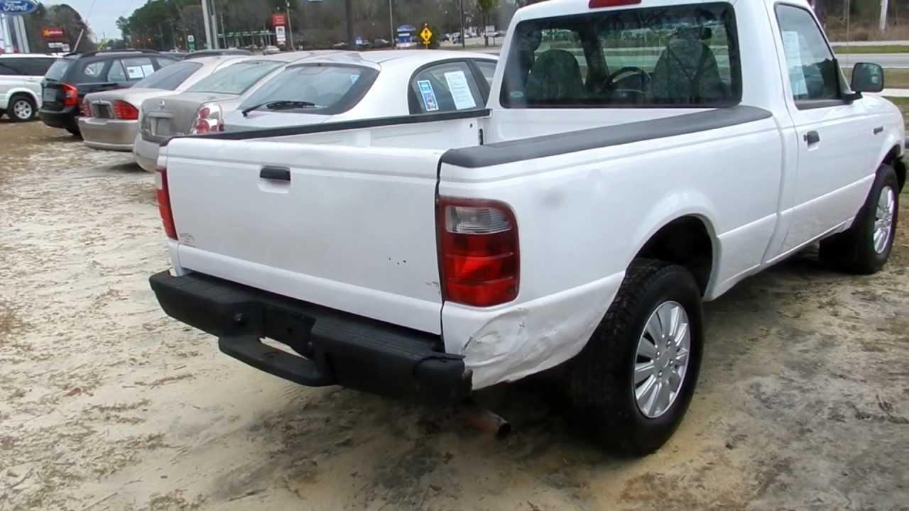 2002 Ford Ranger Xl Regular Cab Review Charleston Truck Videos For Ravenel You
