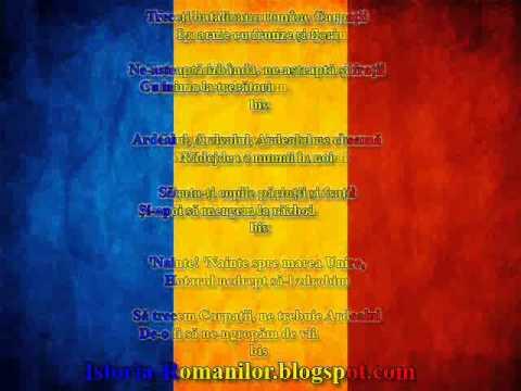 Corul armatei romane - treceti batalioane romane carpatii ( versuri)