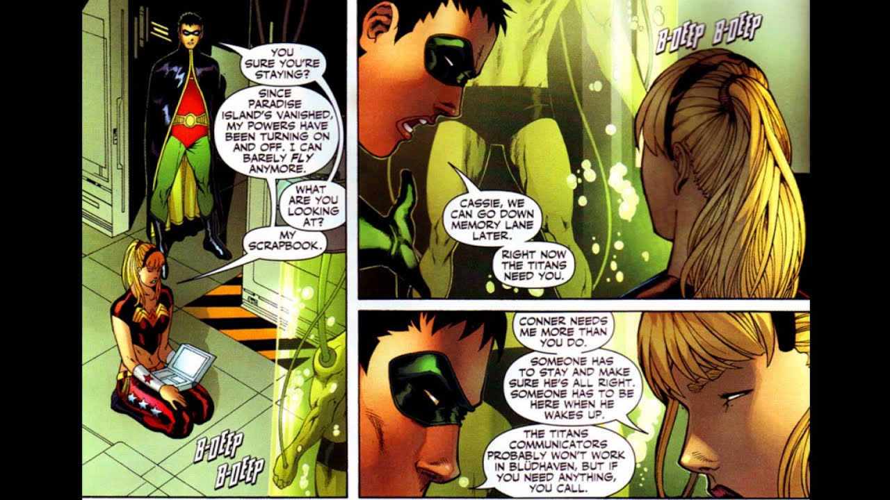 The Infinite Crisis Event, Book 34: Teen Titans Annual #1 Part One