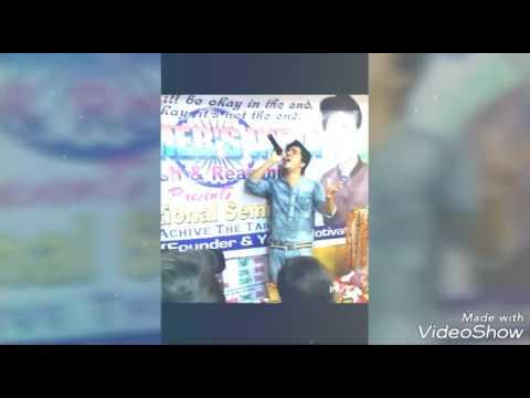 Dilnashin dilnashin on the karaoke by Anurodh Amrit