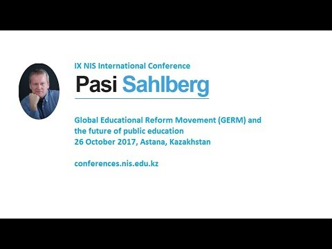 Pasi Sahlberg: Invest in social capital!