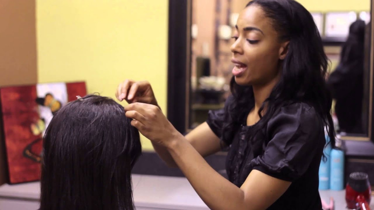 how to weave bangs for different hairstyles : bangs & styling hair