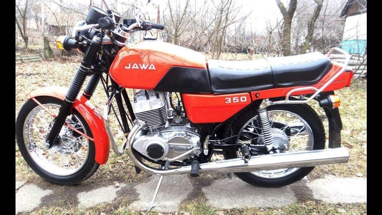 Ява JAWA легендарный мотоцикл - YouTube