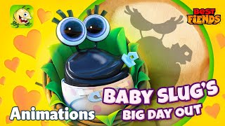 Baby Slug's Big Day Out - A Best Fiends Animation thumbnail