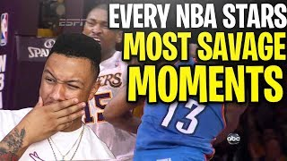 Every NBA Star's Most SAVAGE Moment! Narrated By A Bum