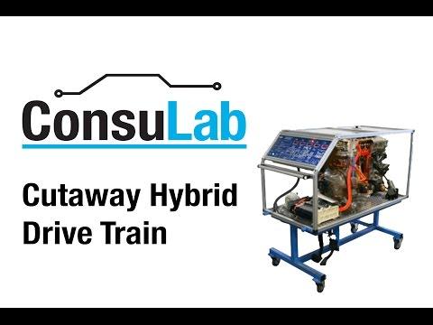 Cutaway Toyota Prius Hybrid Drive Train
