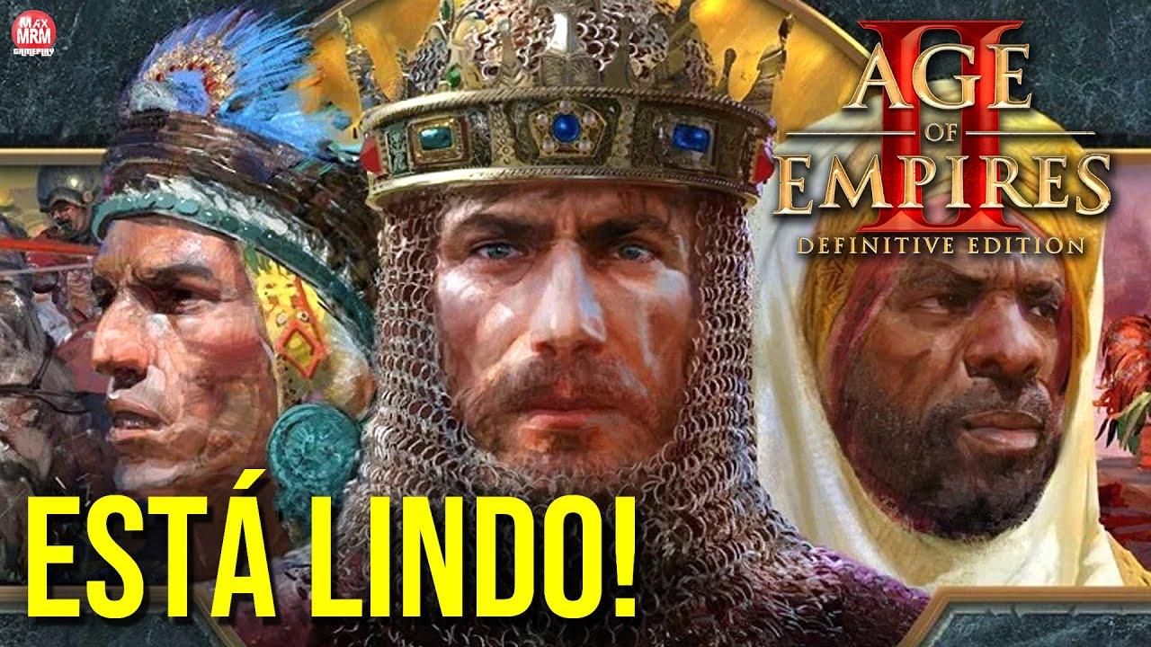 Age of Empires II : Definitive Edition  - O INÍCIO | NOVA CAMPANHA e GRÁFICOS APRIMORADOS! PT-BR