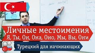 Личные местоимения и аффиксы. Турецкий язык для начинающих. Уроки турецкого языка онлайн Диалог