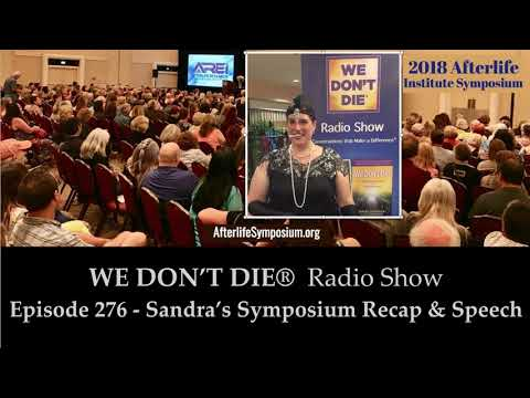 Episode 276  Sandra's Symposium Experience & Living the Miraculous Speech thumbnail