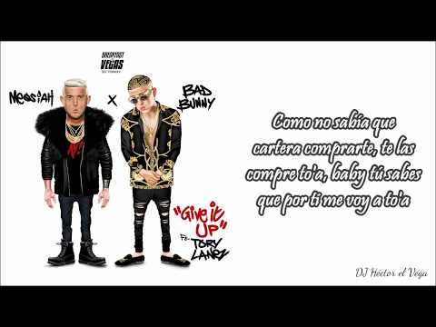 Give It Up (Letra) - Messiah & Bad Bunny ft. Tory Lanez