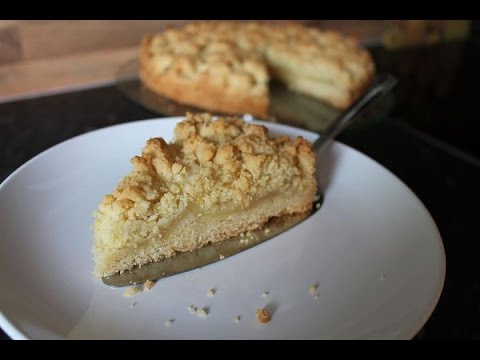 schneller apfelkuchen mit streuseln simple easy apple crumble pie recipe eng subs. Black Bedroom Furniture Sets. Home Design Ideas