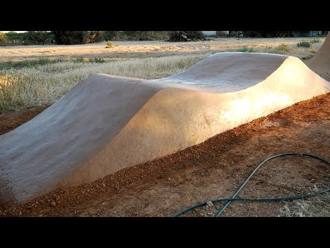 Building a Dirt Jump Roller Time-lapse