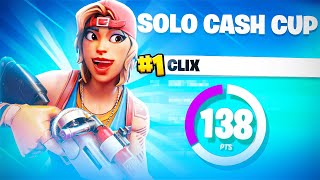 How I got 1ST PLACE in the SOLO CASH CUP 🏆 | Clix